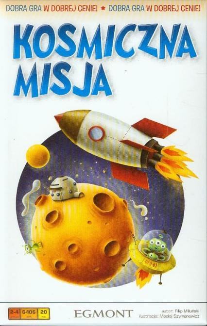 Kosmiczna misja - gra planszowa -  | okładka
