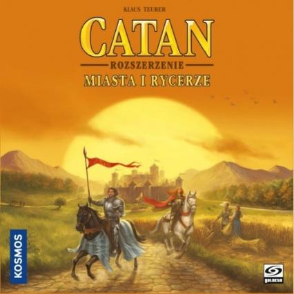 Catan - Miasta i Rycerze (nowa edycja) - gra planszowa - Klaus Teuber | okładka
