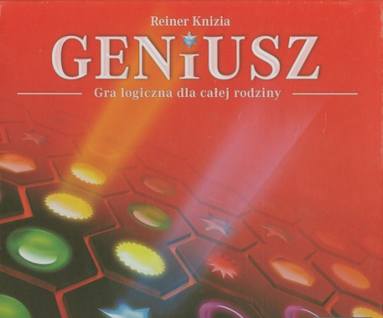 Geniusz familijny  - gra planszowa  - Reiner Knizia | okładka
