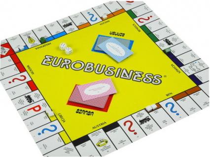 Eurobusiness - gra planszowa -  | okładka