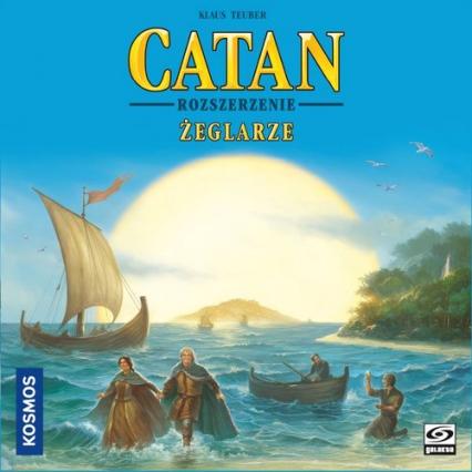Catan - Żeglarze (Żeglarze z Catanu) - rozszerzenie gry planszowej - Klaus Teuber | okładka