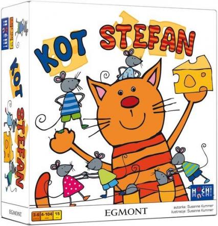 Kot Stefan - gra planszowa  - Susanne Kummer | okładka