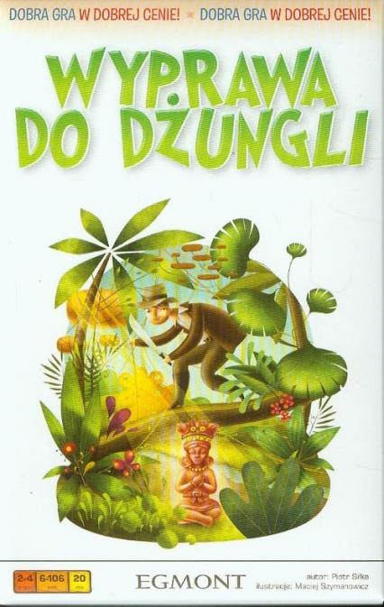 Wyprawa do dżungli - gra planszowa -  | okładka