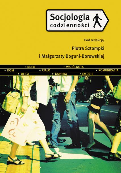 Socjologia codzienności - Piotr Sztompka | okładka