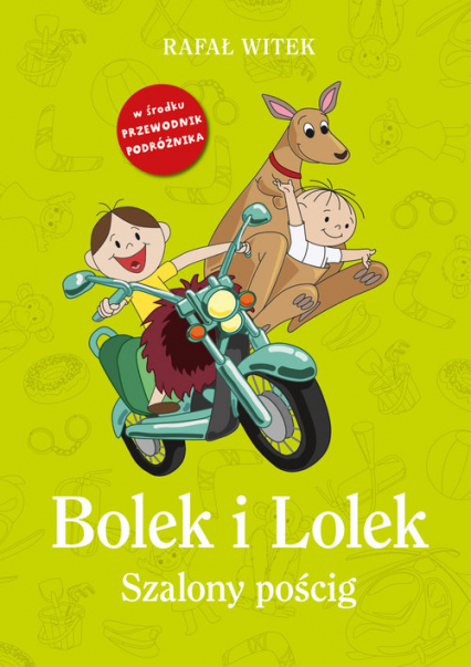 Bolek i Lolek. Szalony pościg - Rafał Witek | okładka