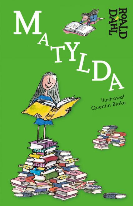 Matylda - Roald Dahl | okładka