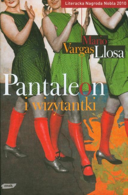 Pantaleon i wizytantki - Mario Vargas Llosa  | okładka