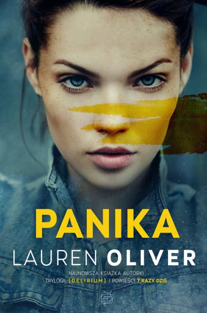 Panika - Lauren Oliver | okładka