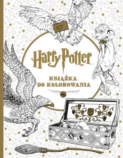 Harry Potter. Książka do kolorowania - Opracowanie Zbiorowe | okładka