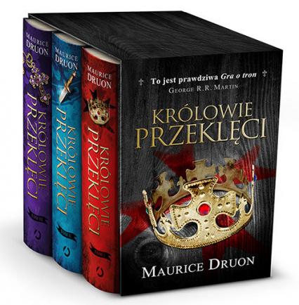 Królowie przeklęci, pakiet t. 1-3 - Maurice Druon | okładka