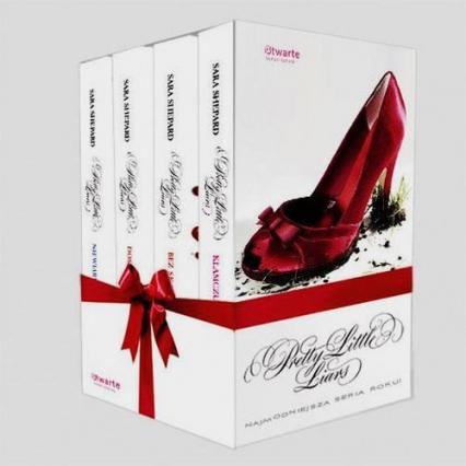 Pakiet: Pretty Little Liars  - Sara Shepard   okładka