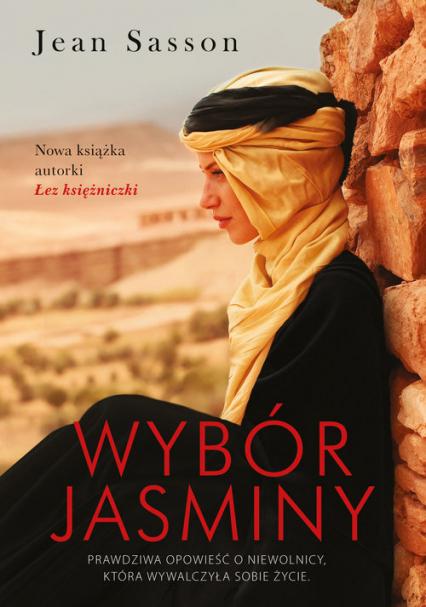 Wybór Jasminy - Jean Sasson | okładka