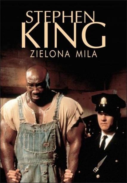 Zielona mila - Stephen King | okładka