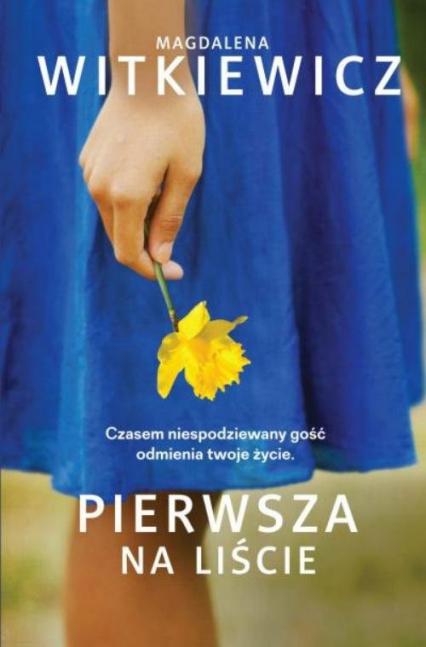 Pierwsza na liście - Magdalena Witkiewicz | okładka