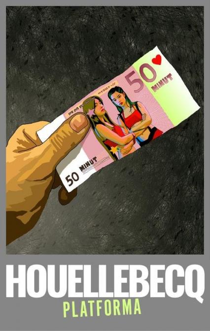 Platforma - Michel Houellebecq | okładka