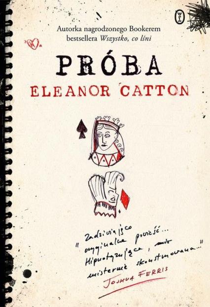 Próba - Eleanor Catton | okładka
