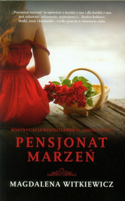 Pensjonat marzeń - Magdalena Witkiewicz | okładka