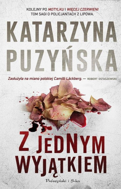 Z jednym wyjątkiem - Katarzyna Puzyńska   okładka