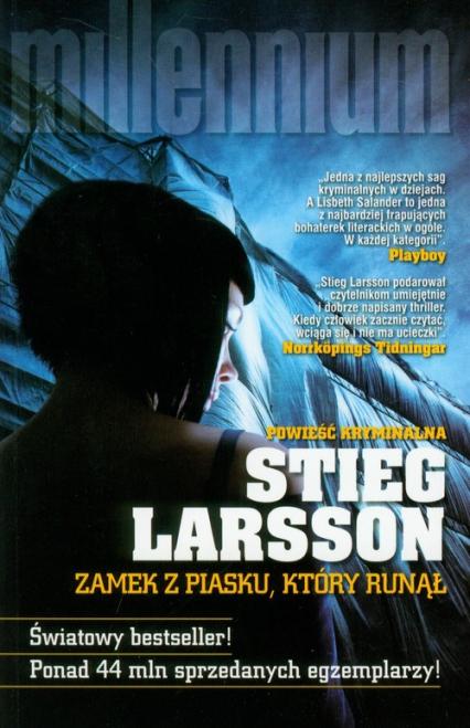 Zamek z piasku, który runął - Stieg Larsson | okładka