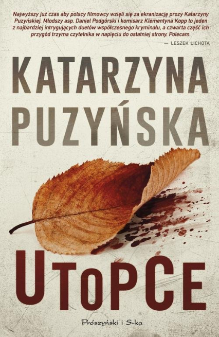 Utopce - Katarzyna Puzyńska | okładka