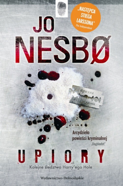 Upiory - Jo Nesbo | okładka