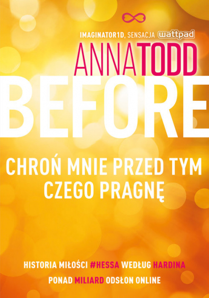 Before. Chroń mnie przed tym, czego pragnę - Anna Todd | okładka