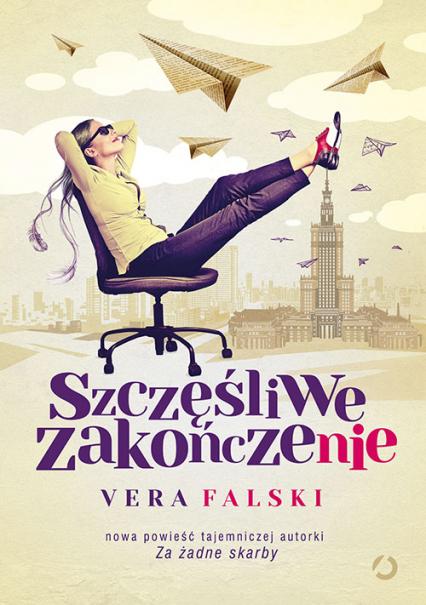 Szczęśliwe zakończenie - Vera Falski | okładka