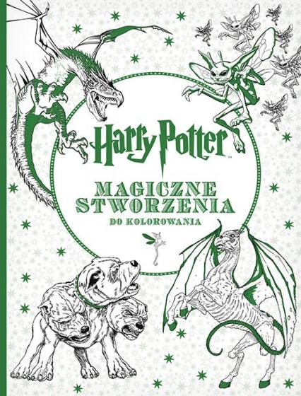 Harry Potter. Magiczne stworzenia do kolorowania - Opracowanie zbiorowe | okładka