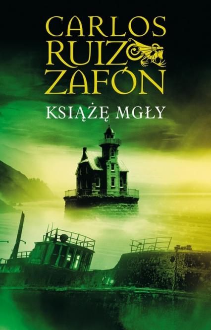 Książę Mgły - Carlos Ruiz Zafon | okładka