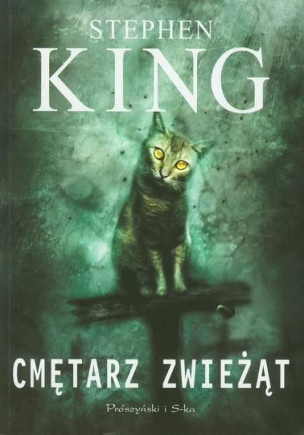 Cmętarz zwieżąt - Stephen King | okładka