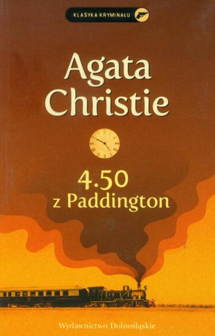 4.50 z Paddington - Agata Christie | okładka