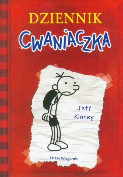 Dziennik cwaniaczka - Jeff Kinney | okładka