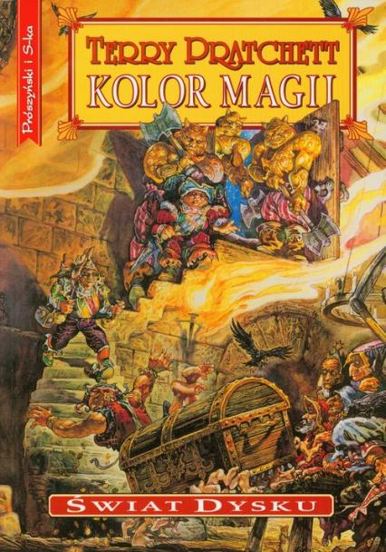 Kolor magii - Terry Pratchett | okładka