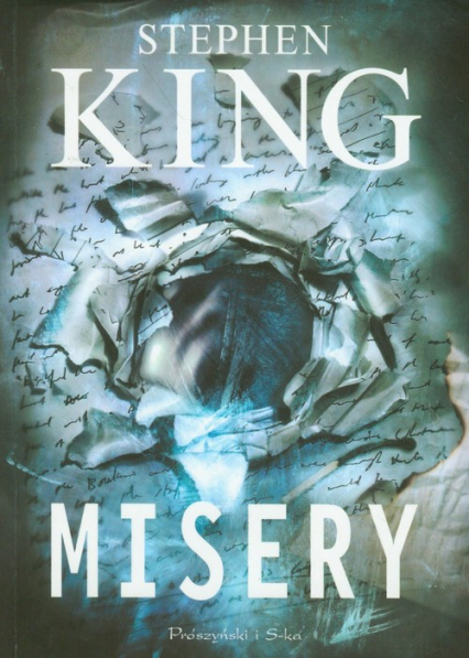 Misery - Stephen King | okładka
