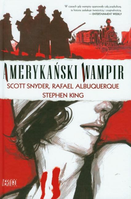 Obrazy Grozy. Amerykański wampir - Stephen King   okładka