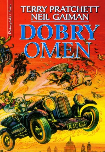 Dobry omen - Terry Pratchett, Neil Gaiman  | okładka