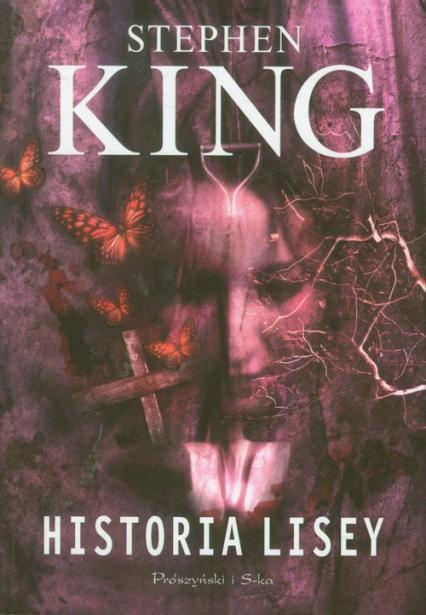 Historia Lisey - Stephen King   okładka
