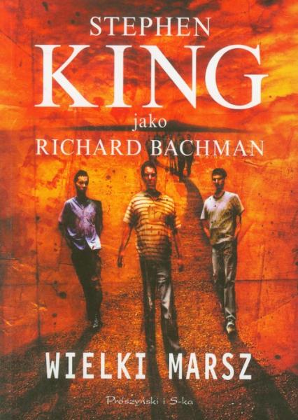 Wielki Marsz - Stephen King | okładka