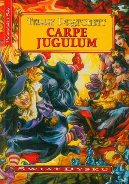 Carpe Jugulum - Terry Pratchett | okładka