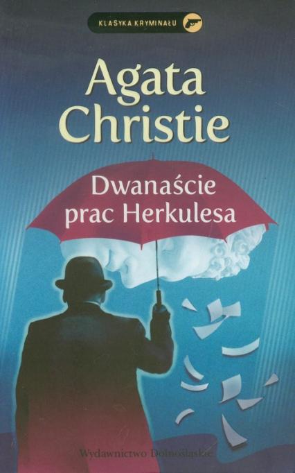 Dwanaście prac Herkulesa - Agata Christie   okładka