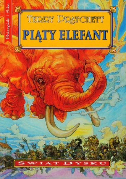 Piąty elefant - Terry Pratchett | okładka