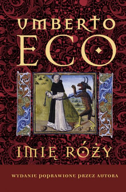 Imię róży - Umberto Eco   okładka