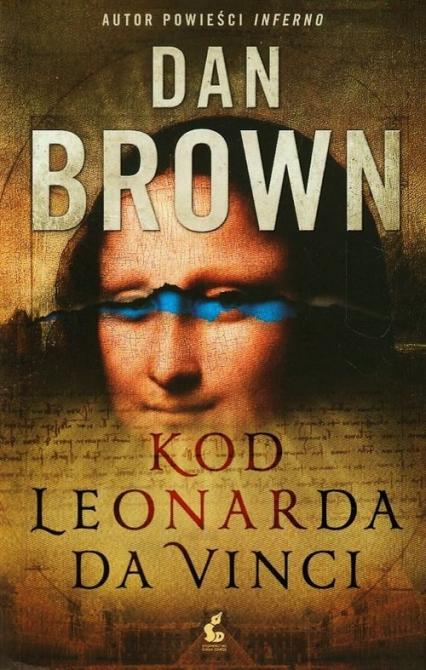 Kod Leonarda da Vinci - Dan Brown | okładka