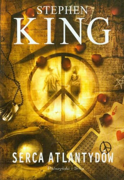 Serca Atlantydów - Stephen King | okładka