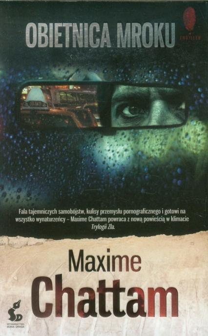 Obietnica mroku - Maxime Chattam | okładka