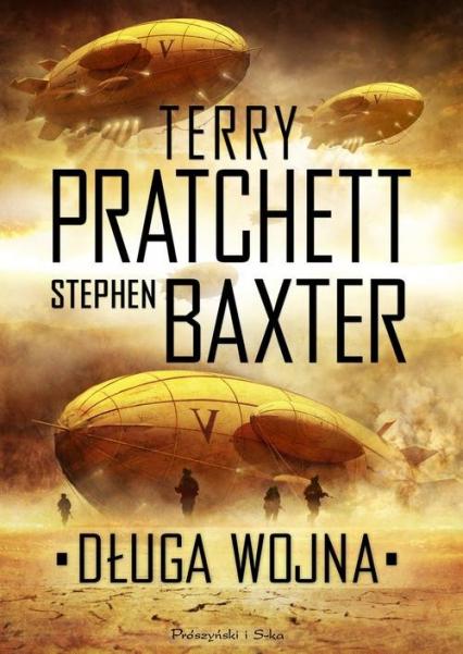 Długa wojna - Terry Pratchett, Stephen Baxter  | okładka