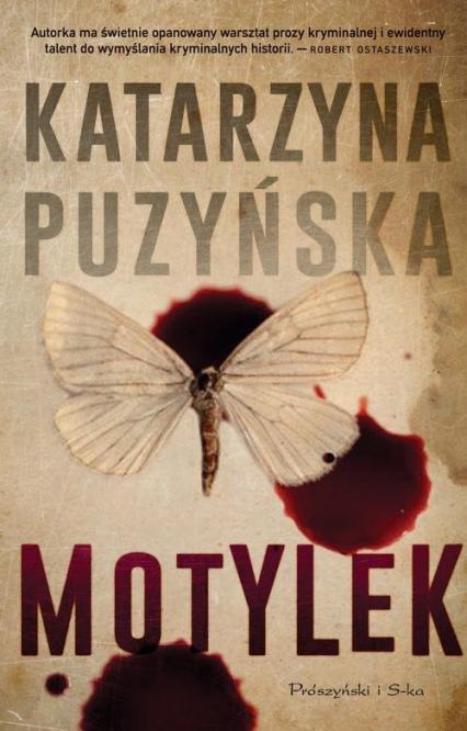 Motylek - Katarzyna Puzyńska | okładka