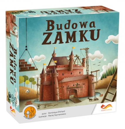 Budowa zamku - gra planszowa - Dominique Ehrhard | okładka