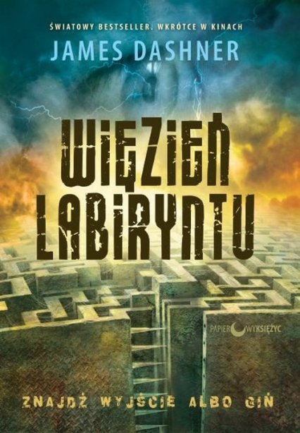 Więzień Labiryntu - James Dashner | okładka