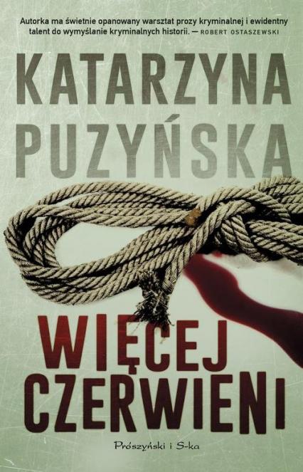 Więcej czerwieni - Katarzyna Puzyńska | okładka